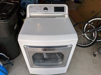 LG GAS Dryer DLGX7601WE with Turbo Steam Fort Worth, 76131