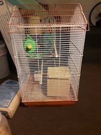 Bird cage and breeder box for parakeet   Warren, 44483