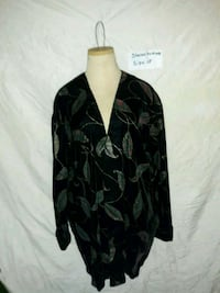 black and gray camouflage zip-up jacket Macon, 31204