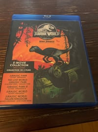 Jurassic Park 5 movie collection  Toronto, M4R 1E2