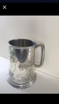Pewter - Several Main sites of England engraved on this Mug/Stein Port Hope, L1A 2G6