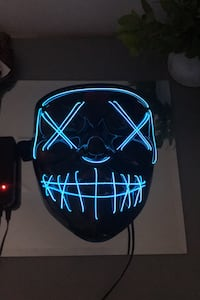 Purge light up Halloween mask Ottawa, K2E 5L9