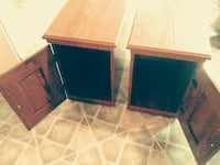2 wooden end tables/night stands Four Oaks, 27524
