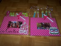2 MUDPIE FRAMES - BIRTHDAY CAKE & QUEEN OF THE CANDLES Vaughan