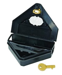 Mini Bait Station with Inspection Window. (Case of 12)