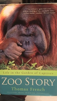 Life in the garden of captives zoo story by thomas french book Lake Cowichan, V0R 2G0
