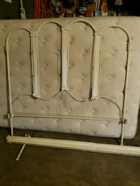 full size headboard and bedframe, antique Colleyville, 76034