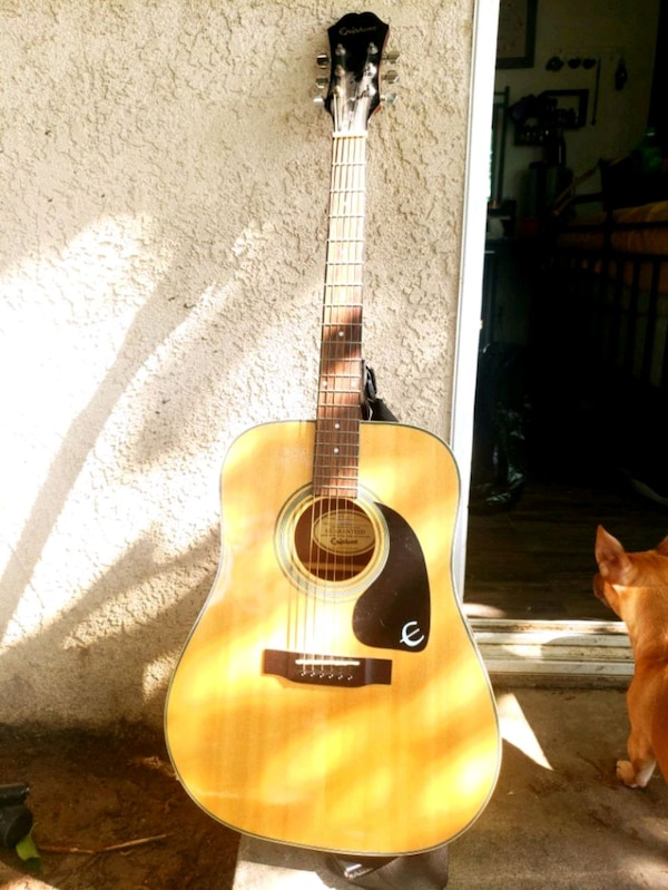 8a625669d6 Used Epiphone DR-1 RH Acoustic Guitar for sale in Hanford - letgo