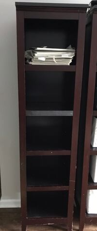 Espresso bookshelf (organizers included) Columbia, 21046