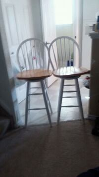 two brown wooden windsor chairs Thornton, 80229