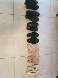 Assorted girl's dance shoes from $10 London, N6H 2M6