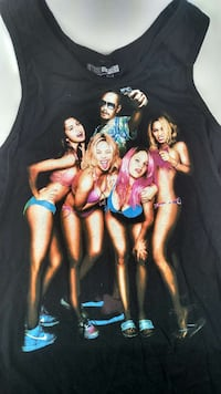 Men's Sz L Tank Top Sprin Breakers Movie