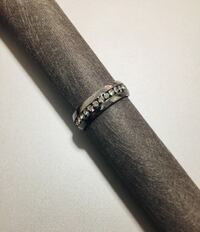 Stainless steel ring with comfort fit 3730 km