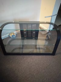 clear glass-top TV stand Festus, 63028