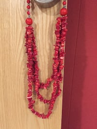 Coral Necklace made in Spain