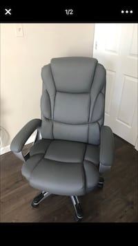 Office chair Brand New!! Gray with 3 years protection plan! New York, 10314