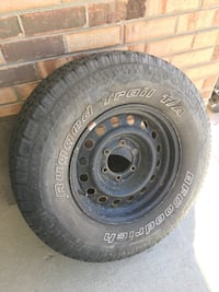 6 lug chevy wheel and tire Hendersonville, 37075