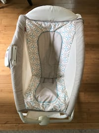 white and gray floral bassinet Falls Church, 22042