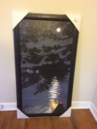 black and white wooden cabinet Fort Wayne, 46808