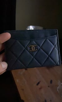 Cute Chanel card holder/mini wallet
