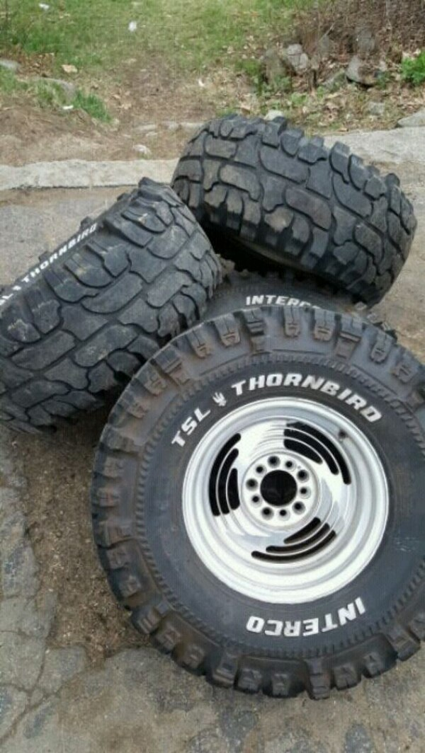 Used 33x12 5x15 Super Swampers For Sale In Hopkinton Letgo