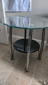 Side Table Glass Round