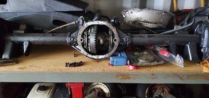 Chevy Rear Differential 10 Bolt