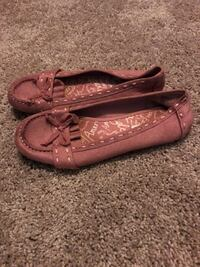 Pink American eagle flats size 7.5 39 km