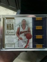 Stephen Curry Triple Jersey Rookie #/25 Only Sacramento, 95811