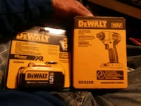 New dewalt 18v impact w xr 5 battery Easton, 18045