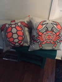 Coral colored pillows set  Wilmington, 28405