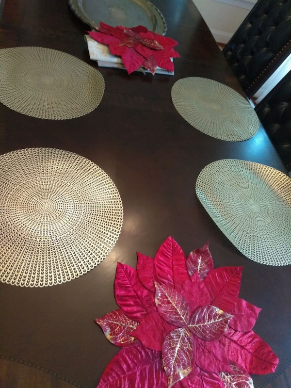 Placemats / end table mat / table decor 0