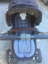 Baby's black and gray stroller Vancouver, V5N 4M3
