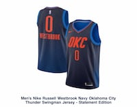 Russel Westbrook jersey size M. Ordered the wrong size and couldn't return price is negotiable Melrose Park, 60160