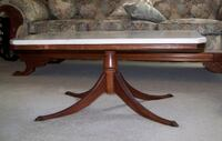 ANTIQUE MARBLE TOP COFFEE TABLE KNOXVILLE