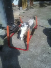 Unfinished rocking horse