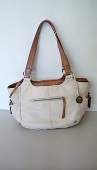 New Sak cream & camel Kendra style purse SILOAMSPRINGS