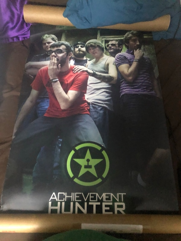 Achievement Hunter and Rooster Teeth posters