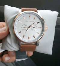 Vince Camuto mens watch rose gold