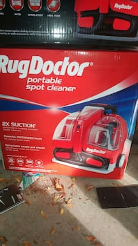 RugDoctor portable spot cleaner box