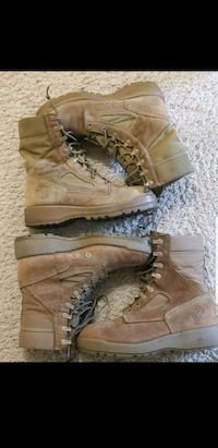 Size 7 military boots Woodbridge, 22191