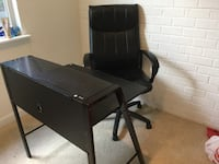 Office chair and table Falls Church, 22042