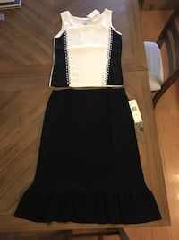 Black and white skirt set Chicago, 60652