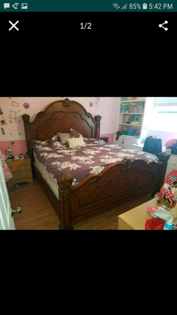 Used King Size Bed For Sale In Fort Lauderdale Letgo