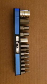 Titan Tools 13pcs Metric HEX bit set Toronto