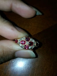 Real ruby and diamond ring Dumfries, 22026