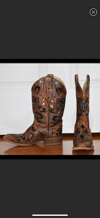 Women's Corral Boots size 9 1/2 Hudson, 28638