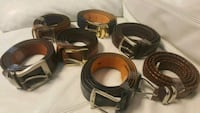 7 Leather belts  Tampa, 33614