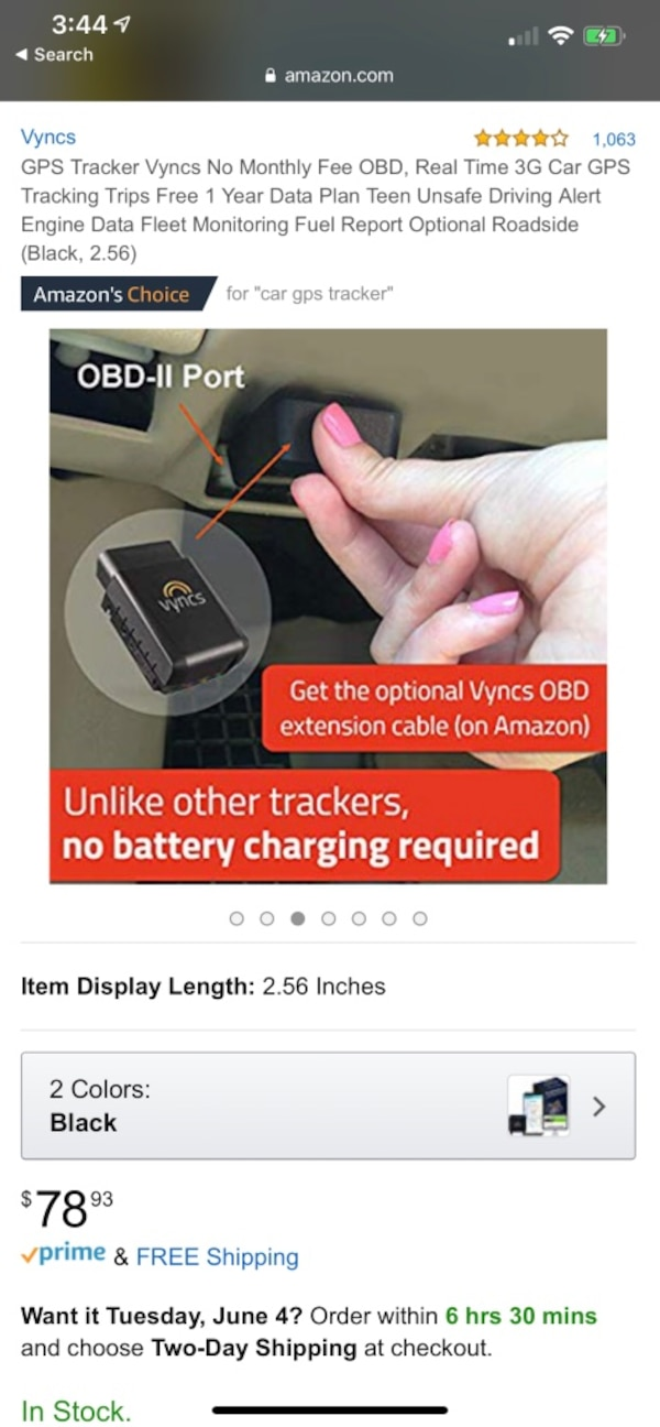 Vyncs new in box gps