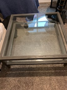 New two-tiered coffee table